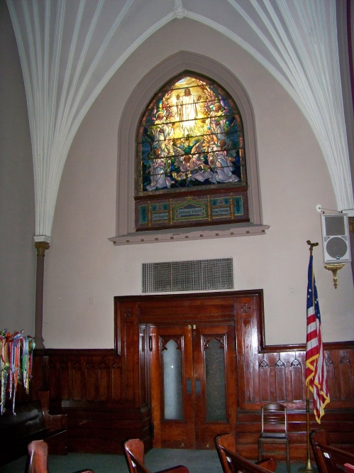 Left side of the altar